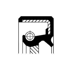Akseltetningsring, automatgir, Høyre, Utgang