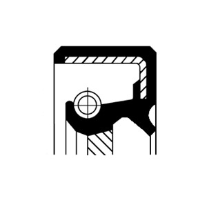 Akseltetningsring, differensial, Utgang, Venstre
