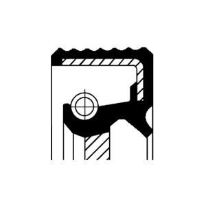 Akseltetningsring, kamaksel, Høyre