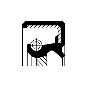 Oljepackningsring, differential, Framaxel, framaxel höger, Höger, Utgång