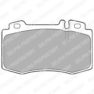 Delphi Brake Pad Wear Sensor Indicator For Mercedes Slk 200 Kompressor 350 280