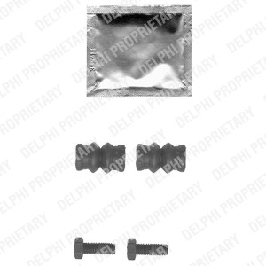 Accessories Kit, brake caliper, Front, Front axle, Rear, Rear axle, Front or rear