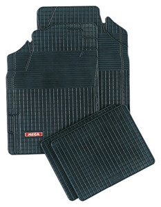 Rubber mat Mega, Front and rear