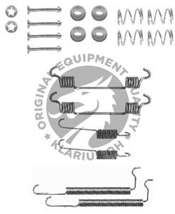 Tarvikesarja, jarrukengät, Takana