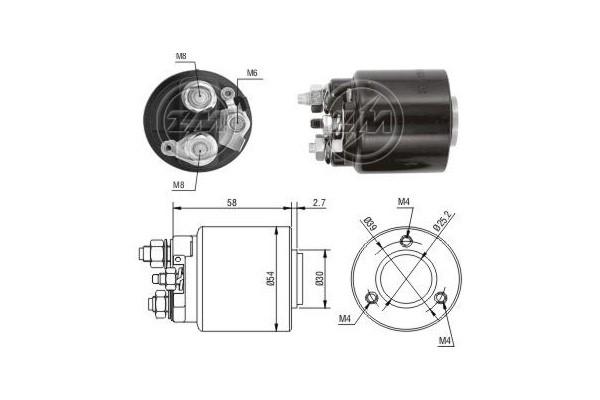 magnetswitc  startmotor