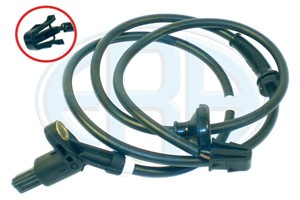 Sensor, wheel speed, Rear axle