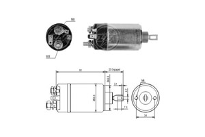 Solenoid Switch, starter