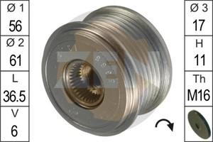 Freewheel Clutch, alternator