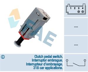 Switch, clutch control