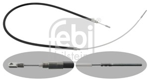 Cable, park brake, Left rear, Right rear