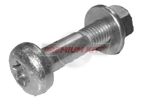 Clamping Screw Set, ball joint, Front, Front, left or right, Rear, left or right, Lower