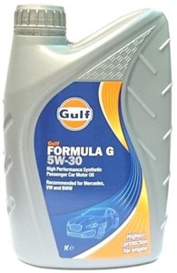 Motorolja Gulf Formula G 5W-30, Universal