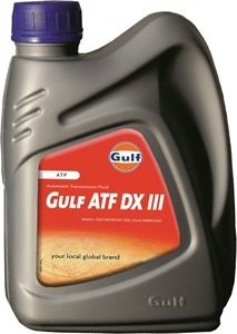 Transmissionsolja Automat Gulf ATF DX III, Universal