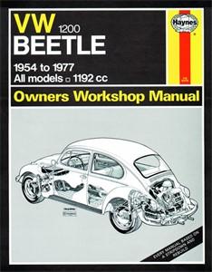 Haynes Reparationshandbok, VW Beetle 1200, Universal