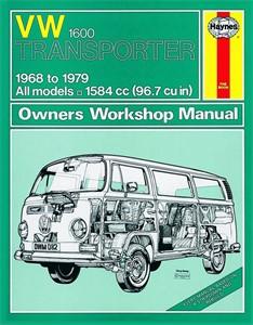 Haynes Reparationshandbok, VW Transporter 1600, Universal