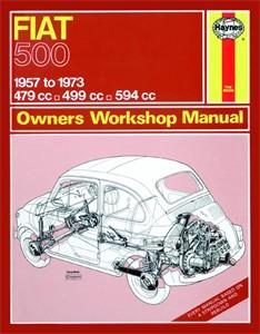 Haynes Reparationshandbok, Fiat 500, Universal