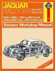 Haynes Reparationshandbok, Jaguar MkI & II, 240 & 340, Universal