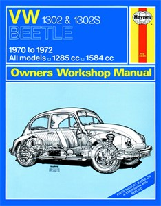 Haynes Reparationshandbok, VW 1302 & 1302S, Universal