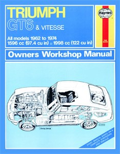 Haynes Reparationshandbok, Triumph GT6 & Vitesse, Universal