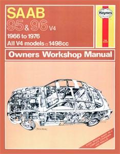 Haynes Reparationshandbok, Saab 95 & 96, Universal