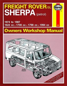 Haynes Reparationshandbok, Freight Rover Sherpa Petrol, Universal