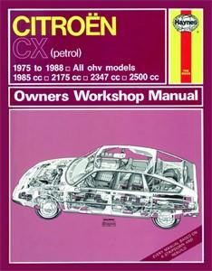Haynes Reparationshandbok, Citroën CX Petrol, Universal