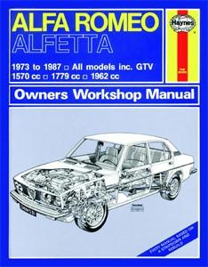 Haynes Reparationshandbok, Alfa Romeo Alfetta, Universal