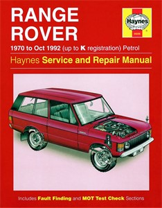 Haynes Reparationshandbok, Range Rover V8 Petrol, Universal