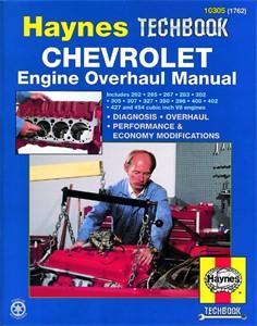 Haynes Reparationshandbok, Chevrolet Engine Overhaul Manual, Universal