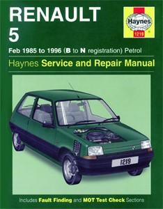 Haynes Reparationshandbok, Renault 5 Petrol, Universal