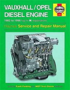Haynes Reparationshandbok, Vauxhall/Opel 1.5, 1.6 1.7 litre, Universal