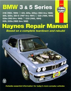 Haynes Reparationshandbok, BMW 3/5 Series, Universal