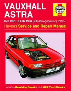 Haynes Reparationshandbok, Vauxhall Astra Petrol, Universal