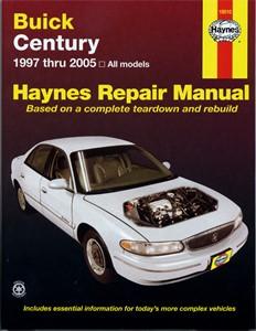 Haynes Reparationshandbok, Buick Century, Universal