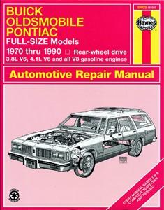 Haynes Reparationshandbok, Buick, Oldsmobile & Pontiac RWD, Universal