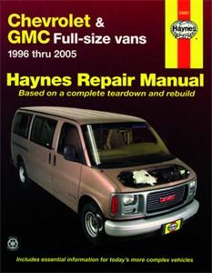 Haynes Reparationshandbok, Chevrolet & GMC Full-size Vans, Universal