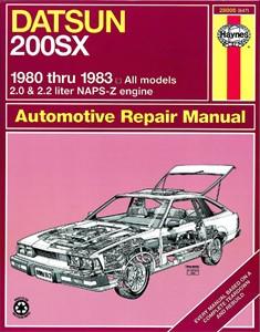Haynes Reparationshandbok, Datsun 200SX, Universal