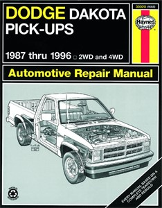 Haynes Reparationshandbok, Dodge Dakota Pick-up, Universal
