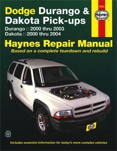 Haynes Reparationshandbok, Dodge Durango & Dakota Pick-ups, Universal