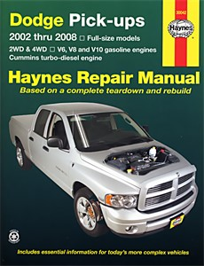 Haynes Reparationshandbok, Dodge Pick-ups, Universal