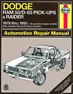 Haynes Reparationshandbok, Dodge D50 Pick-up & Raider, Universal