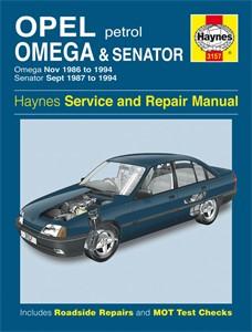 Haynes Reparationshandbok, Opel Omega & Senator Petrol, Universal
