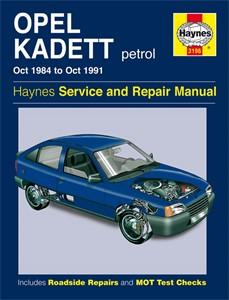 Haynes Reparationshandbok, Opel Kadett Petrol, Universal