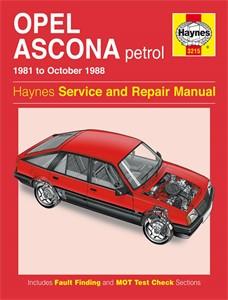 Haynes Reparationshandbok, Opel Ascona Petrol, Universal