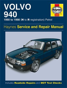 Haynes Reparationshandbok, Volvo 940 Petrol, Universal
