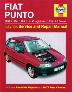 Haynes Reparationshandbok, Fiat Punto Petrol & Diesel, Universal