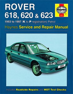 Haynes Reparationshandbok, Rover 618, 620 & 623 Petrol, Universal