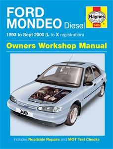 Haynes Reparationshandbok, Ford Mondeo Diesel, Universal
