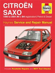Haynes Reparationshandbok, Citroën Saxo Petrol & Diesel, Universal