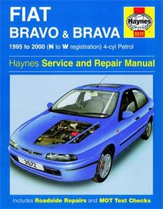 Haynes Reparationshandbok, Fiat Bravo & Brava Petrol, Universal